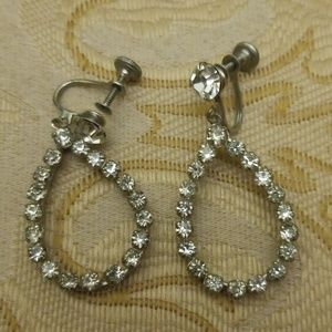 Vintage screw on earrings PM 640